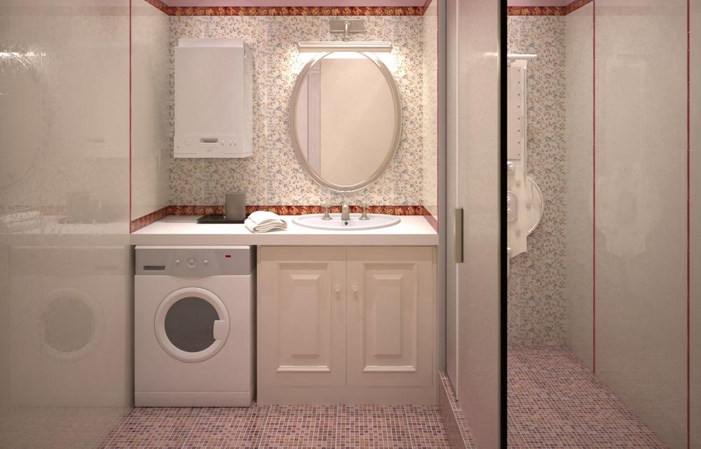 3d визуализация интерьера туалета