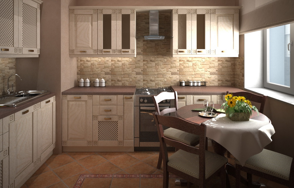 3D визуализация квартиры в Москве