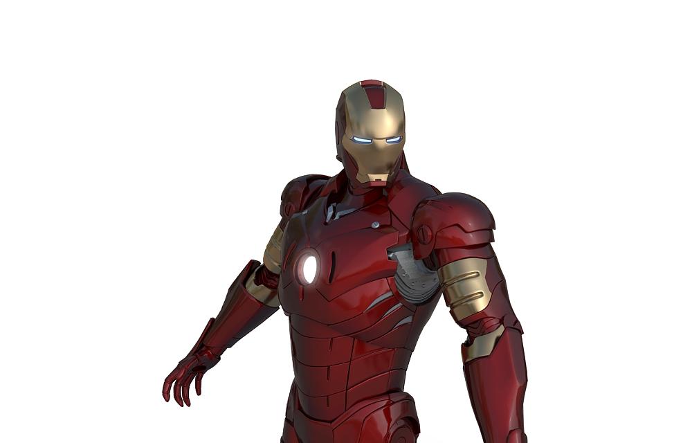 3d модель персонажа из кино