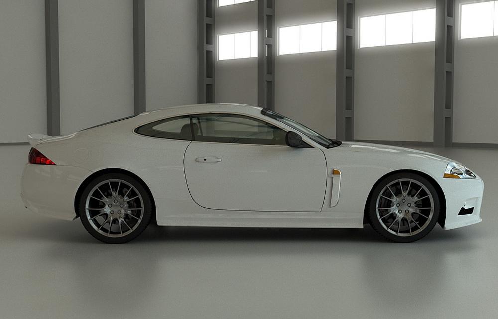 Визуализация модели автомобиля