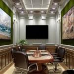 3d визуализация переговорной для офиса