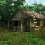 Визуализация экстерьера ветхого дома