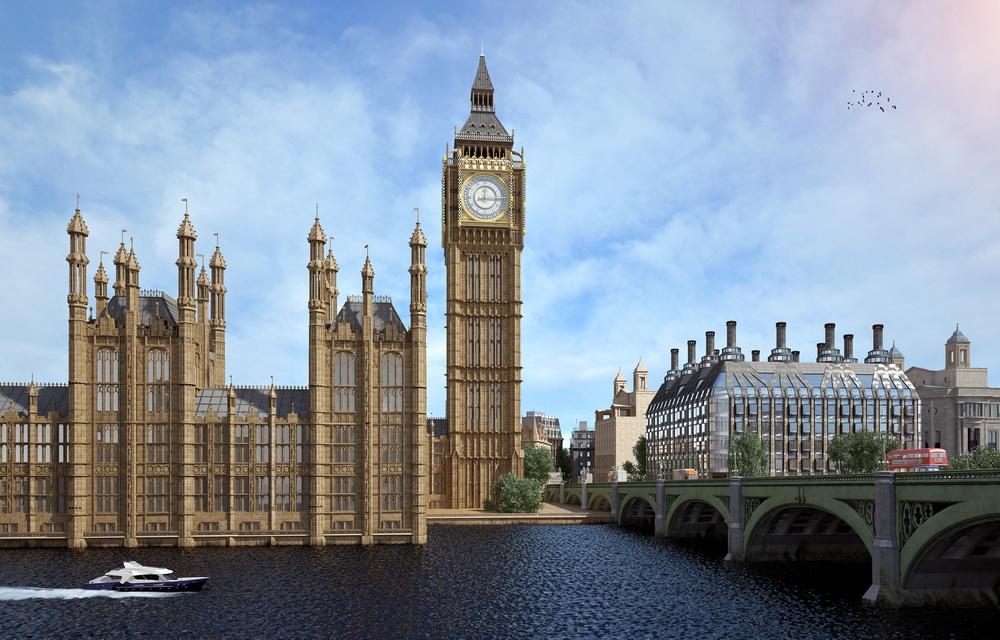 Фотореалистичная 3D визуализация дворца