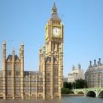 3D моделирование Вестминстерского дворца