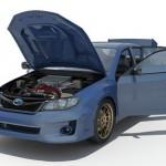 3D презентация автомобиля SUBARU
