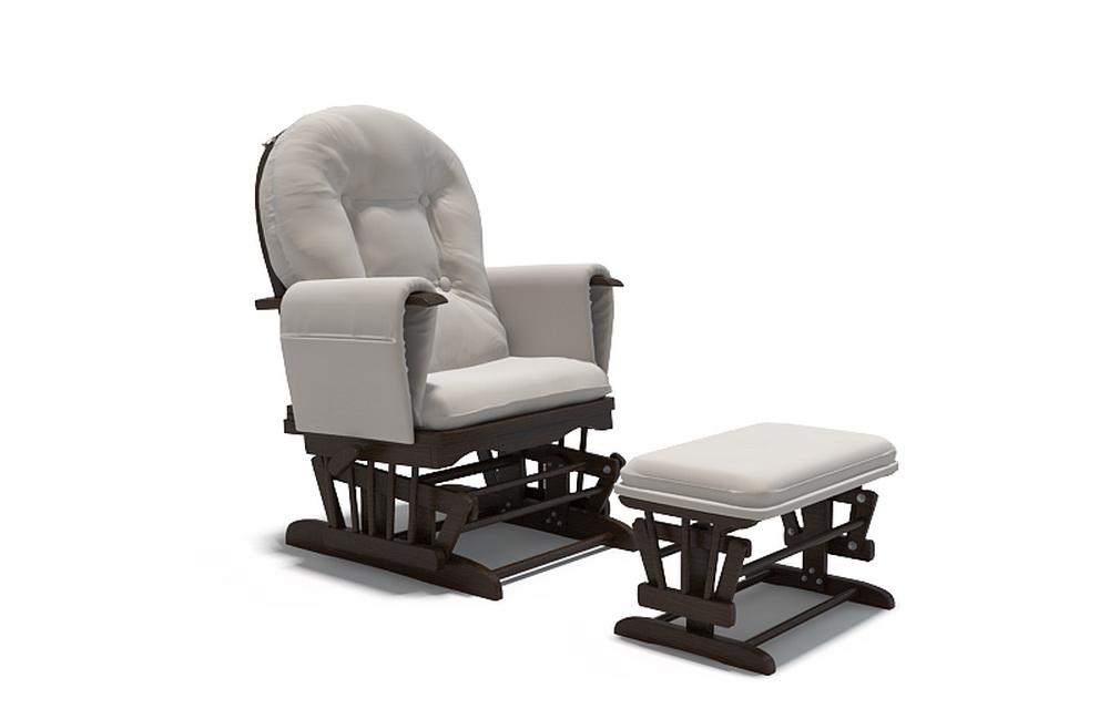 3d модель кресла-качалки для отдыха и кормления детей