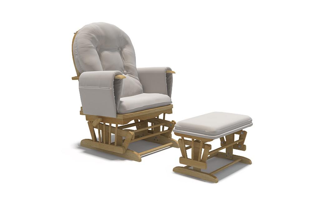 3d модель кресла для кормления грудью цвет