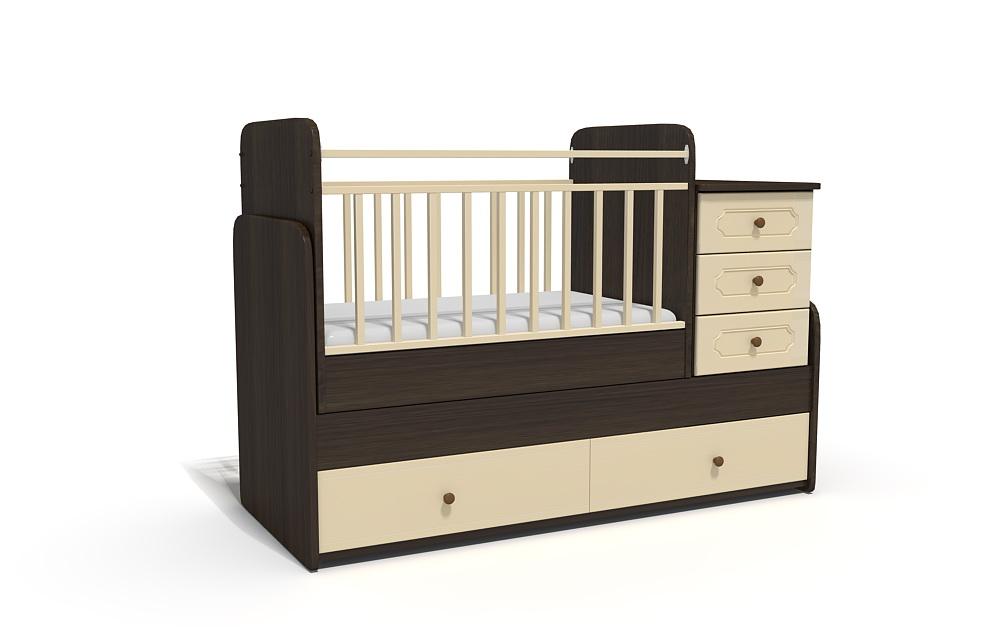 3d моделирование детских кроваток