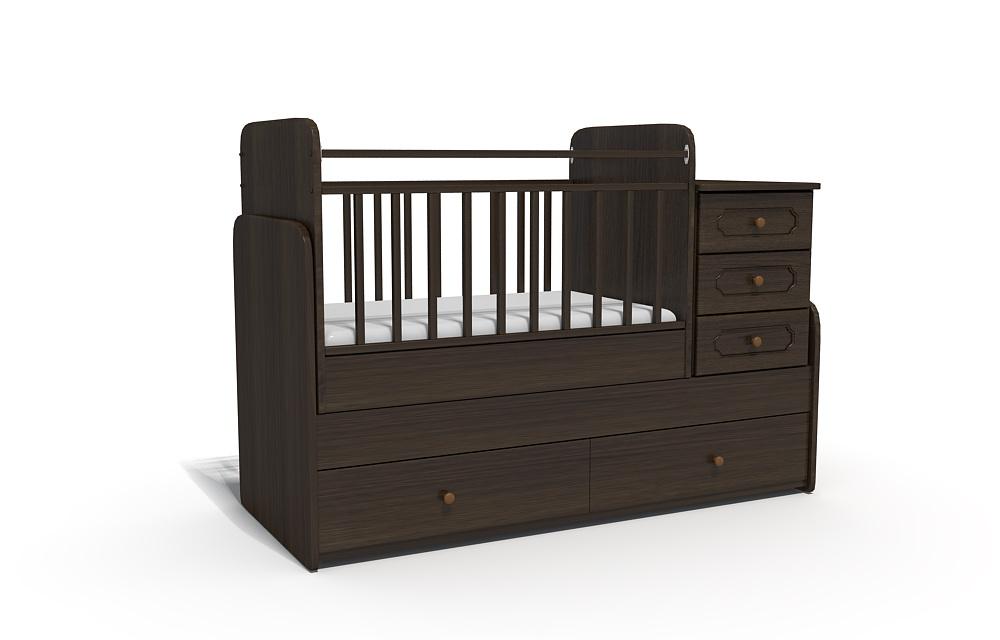 3d визуализация детских кроваток