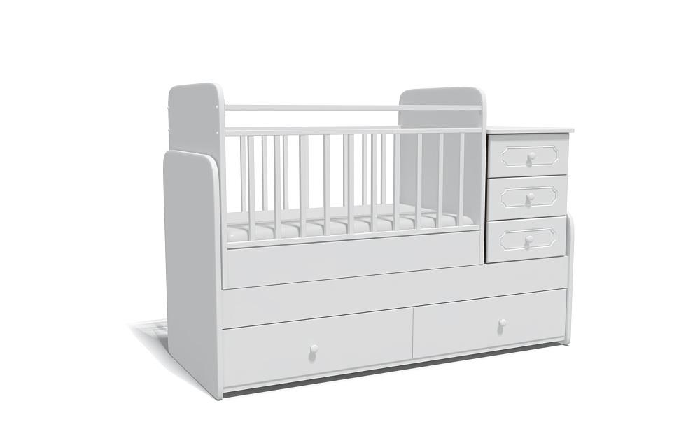 моделирование детских кроваток