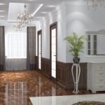 3Д визуализация интерьера частной квартиры
