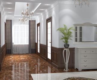 3d интерьер частной квартиры