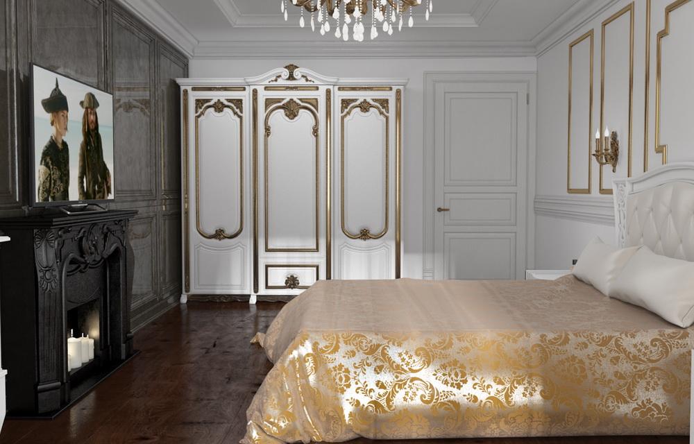 двухкомнатная квартира в классическом стиле