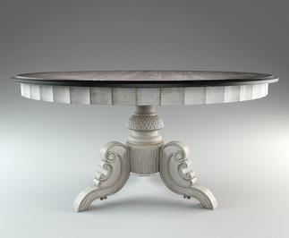 3d визуализация мебели стол