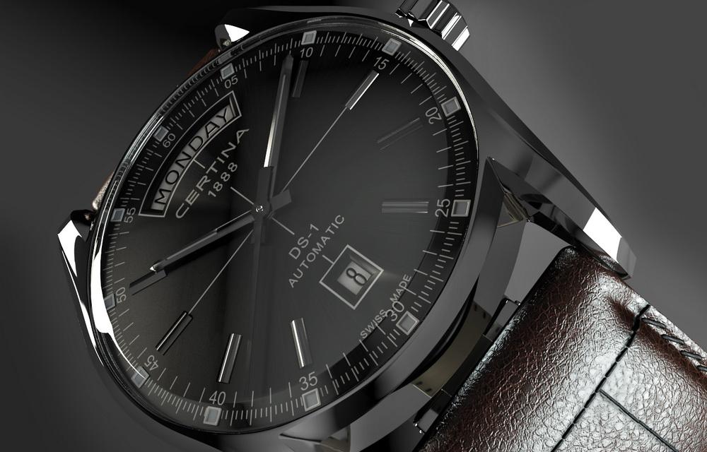 3d визуализация часов