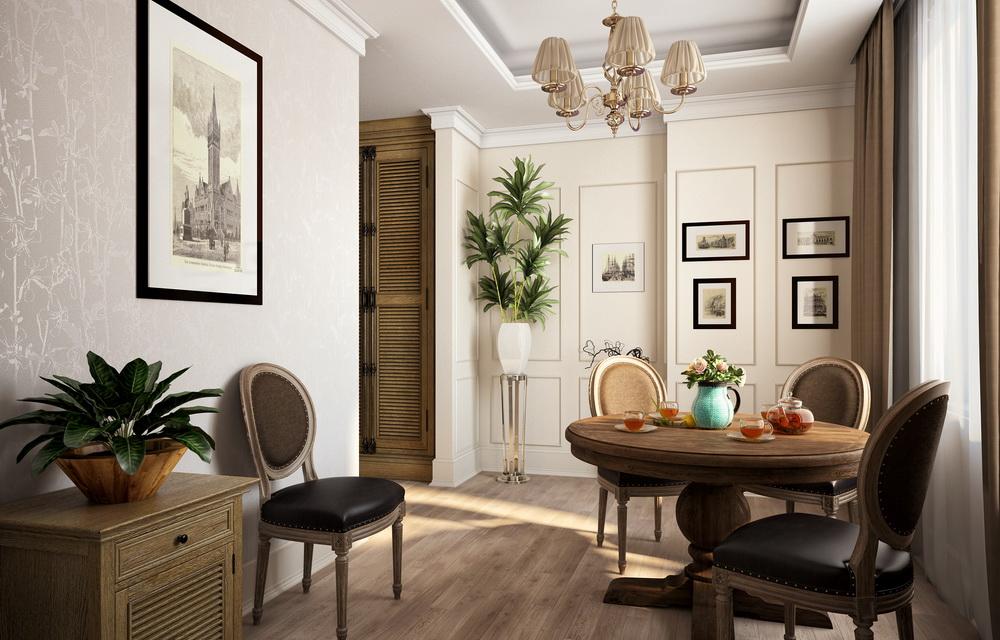 3d визуализация интерьера гостиницы
