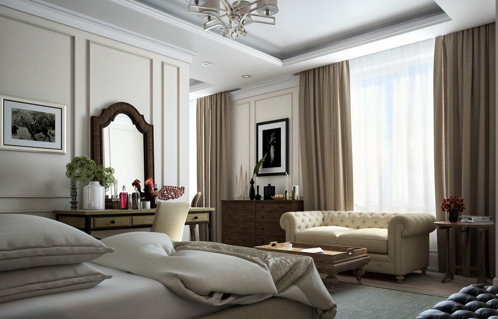 визуализация интерьера и мебели