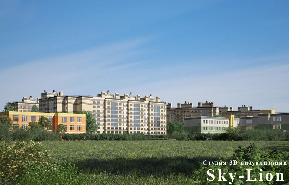 3d визуализация домов