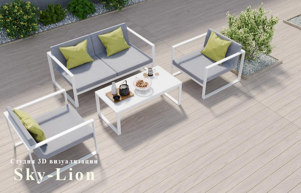 моделирование и 3d визуализация мебели